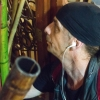 At a plant store on 96th and Broadway, Kocher looks for long, straight bamboo sticks to use in his bubbling. Kocher says he has put a lot of time and effort into refining his bubbling technique, sometimes to the resentment of the bubblers who got him started, but never innovated themselves.