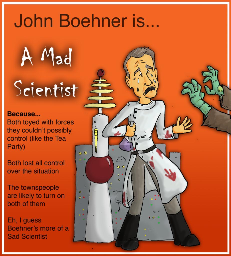 Boehner Political Halloween