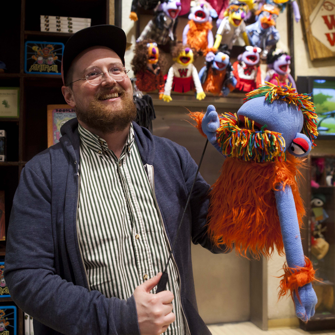 Making a Muppet With Dan Deacon