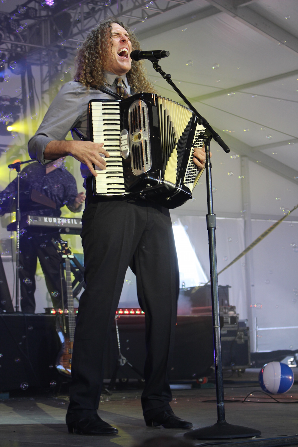 """Weird Al"" at Governors Ball"