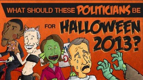 Political Halloween Banner