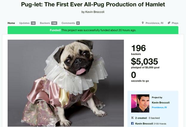 Pug Hamlet